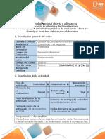Guía de actividades y rúbrica de evaluación - Fase 4 –  Participar en el foro del trabajo colaborativo.docx