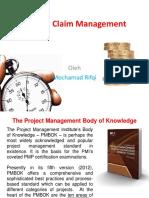 Project Claim Management
