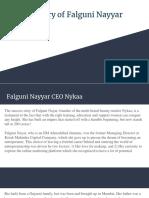 Success story of Falguni Nayyar