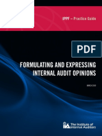 F - Practice Guide - Formulating Audit Opinions
