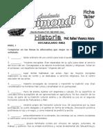 01 Repaso Vocabulario Inka 2006 II