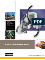 Parker Fluid Power Seals Catálogo EN1016PP