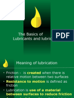 Lubricants and Lubrication