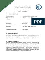 Informe Wais IV de Medicion IV