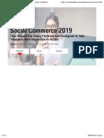 Social Commerce 2019 - EMarketer Trends, Forecasts & Statistics