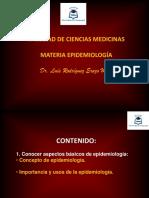 Conceptos bascios de la epidemiologia