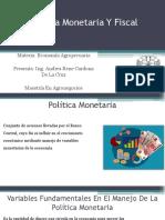 Política Monetaria Y Fiscal.pptx