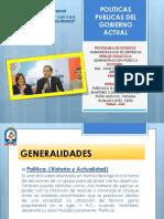 Politicas Publicas del gobierno de Martín Vizcarra