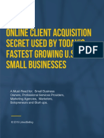 Linkedselling Client Acquisition Report 2019
