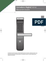 Manual Usuario Cerradura YMF40.PDF