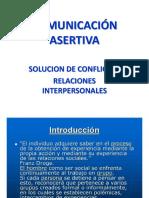 Comunicacion Asertiva- Manejo de Conflicto.