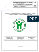 RC-PRO01 Protocolo Transporte Asistencial Basico