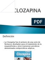 PRESENTACION CLOZAPINA