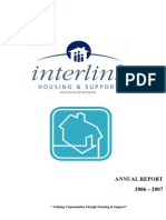 Interlink Housing 2006 2007 Annual Report