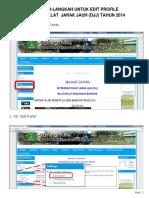 Panduan Edit Profil
