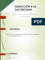 1 - Introducción a La Electricidad