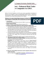Article on Directors Report_CA 2013