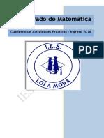 Matematica Cuadernillo Ingreso 2018 IES Lola Mora