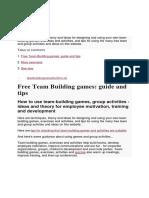 TEAM BUILDING ACTIVITIES.docx