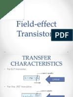 2 Field Effect Transistors (FETs)