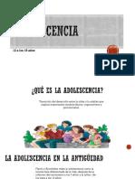 Adolescencia y Desarrollo Fisico