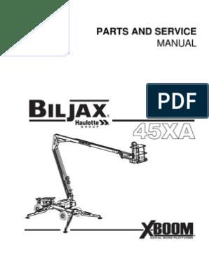 Bil jax 45XA_PS | Elevator | Valve