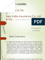 Rita Devi & Ors v. New India Assurance Co. Ltd & Ors (AIR 2000 SC 1930)