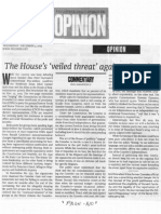 Philippine Daily Inquirer, Dec. 4, 2019, The House's veiled threat against Comelec.pdf