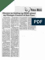 Police Metro, Dec. 4, 2019, Maayos na hosting ng SEAG pinuri ng Olympic Council of Asia Exec.pdf