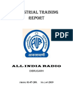 ALL INDIA RADIO, Dibrugarh Report (Main)