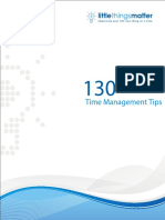 130 Time Management Tips