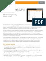 Veeva Vault QMS Datasheet