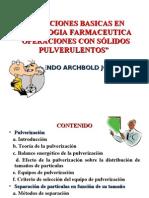 Operaciones Basicas en Tecnologia Farmaceutica