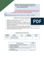 Dezvoltare Personala Cl.v 2019-2020