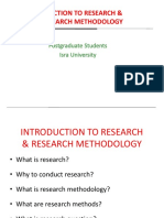 Lecture 1-INTRODUCTION TO RESEARCH & RESEARCH METHODOLOGY.pptx LECTURE 1.pptx