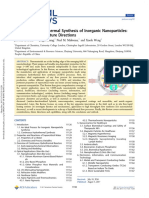 Continuous Hydrothermal Synthesis of Inorganic NanoParticles