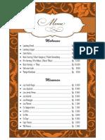 menu kantin