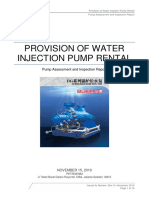 Multistage Centrifugal Pump Assessment