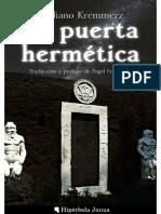 (Giuliano Kremmerz) - La puerta hermetica.pdf