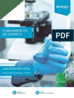 Laboratorio de Fundamento de Química N° 6-1