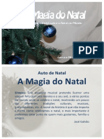A Magia Do Natal - Teatro Musical - Guião e Partituras