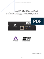 Apogee Symphony MKII SoundGrid User Guide