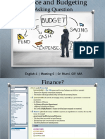 English 1- Meeting 6- finance and budgeting.pptx