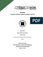 Resume Kriteria Agregat Beton (M.kaisya H.- 10070117116)