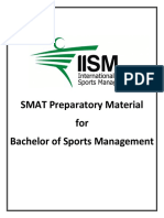 Study material for bsm selection