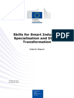 Skills for Smart Industrial Specialization and Digital Transformation