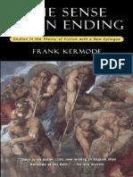 Frank Kermode - The Sense of an Ending