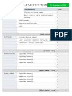 IC ITIL Financial Analysis Template