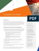 Informatica Corporate Fact Sheet (1)