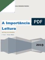Livro de Redação Atualizado 2019.